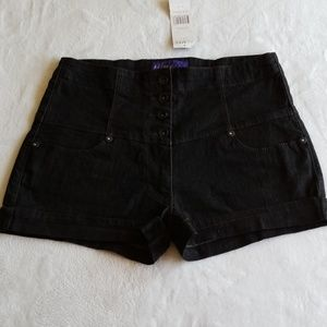 Miley Cyrus nwt, high waisted shorts, size 13